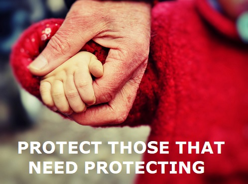 protect those that need protection